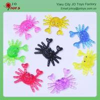 China Wholesale Cheap Children's Toys Mini Sticky Crab For Capsule Toy on sale