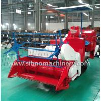 Buy cheap 4LZ-1.0 small muddy field applicable mini wheat combine harvester from wholesalers