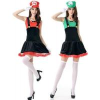 China Adult Sexy Mario and Luigi Character Costume Cosplay Clothes Online wholesale
