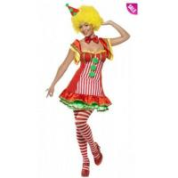 Boo Boo The Clown Women's Circus Costume and Adult Scary Clown Costumes