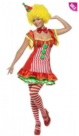 Quality Boo Boo The Clown Women's Circus Costume and Adult Scary Clown Costumes for sale