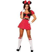 China Fancy Disney Micky Mouse Costume and Adult Minnie Mouse Halloween Costume wholesale