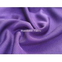 China Comfortable and breathable for sport shirt anti-static wicking knitted bamboo fibre jacquard fabric on sale