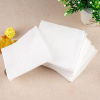 China Shangdao Simply-packed Embossed Thickened Napkin 1-ply 50 sheets plastic packaging wholesale