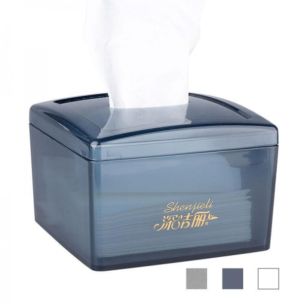 Quality Shenjieli Household Commercial ABS Engineering Plastic Napkin Box for sale