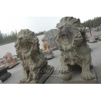 China Classic natural modern white marble Lion Statues wholesale