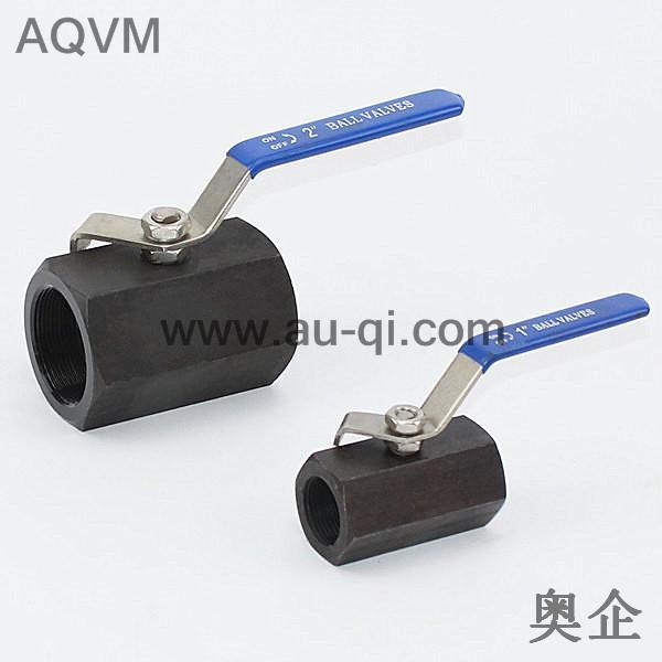 Quality HEX TYPE HIGH PRESSURE CARBON STEEL BALL VALVE for sale