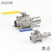 China 3PIECES BALL VALVE WITH SW END AND CAMLOCK COUPLINGS wholesale