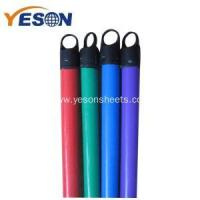China 120x2.2cm pvc coated wooden broom stick wholesale