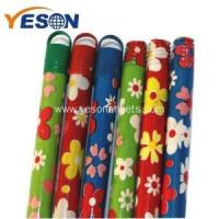 China color coated wooden broom handle wholesale