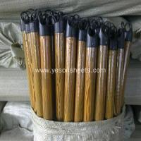 China colorful pvc coated wooden broom handle wholesale