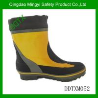 China M052 men rubber rain boot wholesale