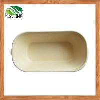 China Biodegradable Disposable Bamboo Pulp Food Container wholesale