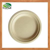 China Bamboo Pulp Plates and Trays Made From Bamboo Pulp Biodegradable wholesale