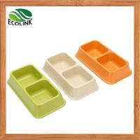China Eco-Friendly Bamboo Fiber Bamboo Pet Dog Bowl (for Dogs & Cats) wholesale