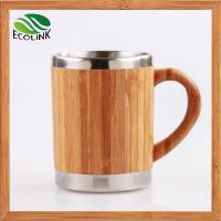 China Insulated Bamboo Coffee Tea Mug With Stainless Steel Inner wholesale