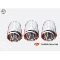 China Chiller Water Cooled Heat Exchanger Evaporator Coil For Carrier Air Conditioner on sale