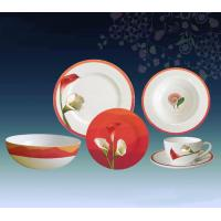 Buy cheap Dinner Ware Red Mountains & Lilies from wholesalers