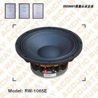 Buy cheap RW-1065E full range speaker from wholesalers