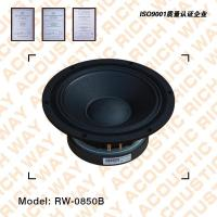 Buy cheap RW-0850B full range speaker from wholesalers