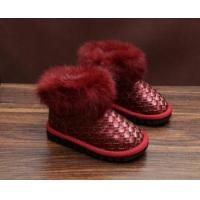 China 2017 Classic kids snow boots water proof warm shoes flat kids shoes on sale