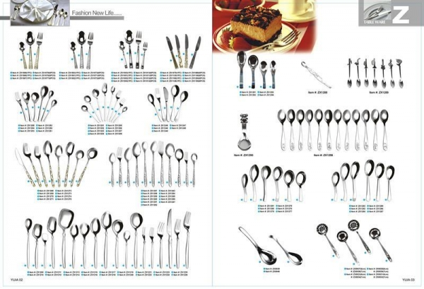 Quality NO. CUTLERY Stainless Steel Tableware for sale