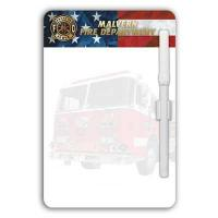 China Imp. Magnetic Memo Board w/ Fire Truck on sale