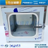 Stainless steel normal pass window