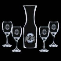 Buy cheap Products #BWG615-4 Stanton Carafe & 4 Wine from wholesalers