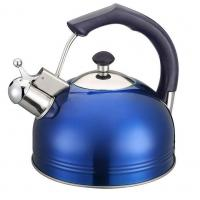 Buy cheap blue whistling kettle 3L from wholesalers