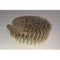 China 1-1/4 inch Electro Galvanized Coil Roofing Nails 7,200-Pack wholesale