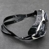 Fashion Myopic Mirrored Antifog Swimming Glasses with Flat Lens Wide Vision