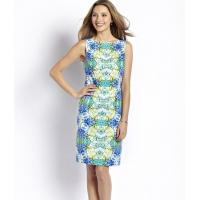 Buy cheap 42218 Floral Mirror Print Sheath from wholesalers