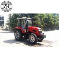 Buy cheap 4WD 90 horsepower Wheel Farm Tractors With Cabin from wholesalers