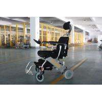 Buy cheap Adjustable Headrest and Pedal Electric Automatic Wheelchair from wholesalers