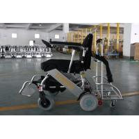 Buy cheap Portable Folding Lithium Battery Powered Electric Wheelchair for Airport from wholesalers
