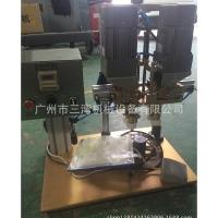 Buy cheap Manual capping machine, glass bottle, plastic lid, capping machine from wholesalers