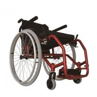 Buy cheap Adjustable Seat Folding Ultra Lightweight Sport Wheelchair from wholesalers