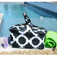 Monogrammed Insulated Picnic Basket
