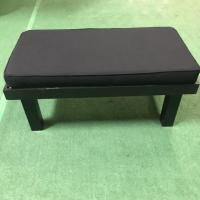 Buy cheap FRUITWOOD FURNITURE::BLACK BENCH 2' X 4' RECESSED TOP from wholesalers