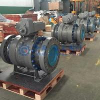 China Carbon steel ball valve 12 inch 600lbapi 6d wholesale