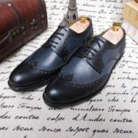 China SKP69 New Arival Brand Men Oxford Genuine Leather Dress Shoes on sale