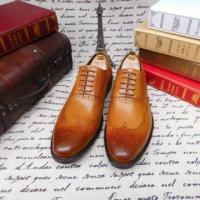 China SKP71 New Brand Dress Men Genuine Leather Oxford Shoes on sale