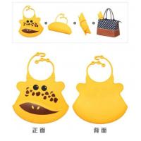 Colorful Waterproof Baby Bibs/silicon Bibs With Pocket