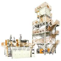 POF Three-layer Co-extrusion Heat Shrinkable Film Blowing Machine