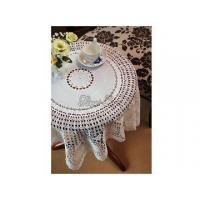 China Round Crochet Tablecloth wholesale