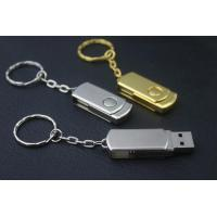 China Free laser engraving logo for 32GB Metal Swivel Usb Drive for Windows 7 wholesale