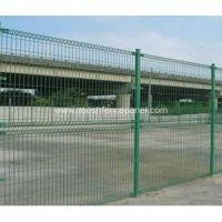 Green Roll Top Wire Fence Fence Panel
