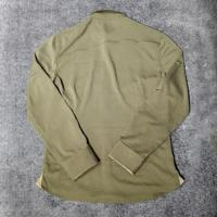 China Black Men's Blank Long Sleeve Slim Fitted Button up Shirts wholesale