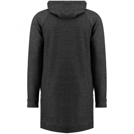 Quality Men Dark Grey Cross Neck Hoodie for sale